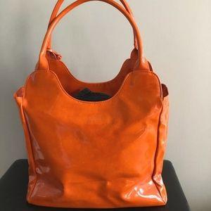 Neiman Marcus Vinyl Handbag